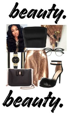 """""""Your body on my body baby"""" by littydee ❤ liked on Polyvore featuring Anne Klein, Boohoo, Keepsake the Label and Ted Baker"""
