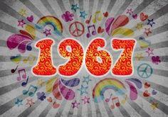 Sixties 1967 karte (Vorderseite)