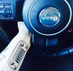 My Jeep tattoo:) For the love of Kletus Jeep