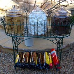 HOW TO THROW A GREAT GRADUATION PARTY | S'MORES BAR |Find all the details at www.AfterOrangeCounty.com Grad Parties, College Graduation Parties, Outdoor Graduation Parties, Outdoor Parties, Outdoor Entertaining, Graduation Ideas, Graduation 2015, Graduation Open Houses, Graduation Celebration