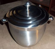 Lenox Tuscany Classics Stainless Steel Ice Bucket with Lid 6228134