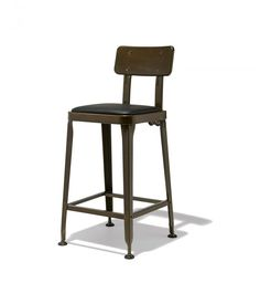 Octane Counter Stool in Copper