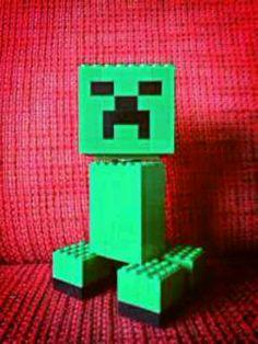 Creeper #MOC #minecraft #lego