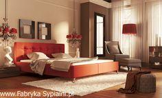 Łóżko tapicerowane Guana z pojemnikiem New Design
