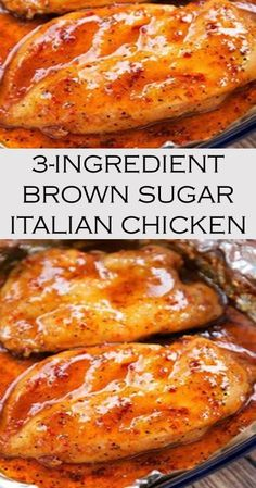 3-INGREDIENT BROWN SUGAR ITALIAN CHICKEN #chicken #yummy #recipe Cake Recipes For Beginners, Dog Cake Recipes, Jello Recipes, Cake Recipes From Scratch, Easy Recipes, Easy Meals, Cooking Recipes, Healthy Recipes, Easy Vanilla Cake Recipe