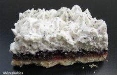 Szabinánál a Besamel, több mint mártás blogon láttam meg ezt a sütit még jó régen. Azonnal tudtam, hogy minket egymásnak teremtettek:) ...