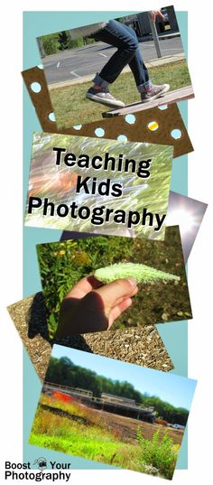Introducing children to the basics of photography, including shooting modes, focus, and exposure, using point-and-shoot digital cameras.