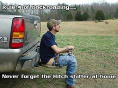 Don't ever forget the hitch might need it to do the stool.