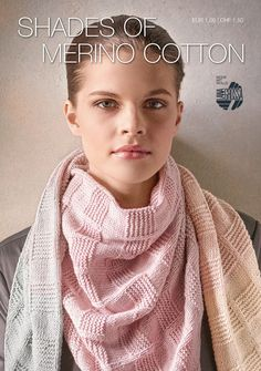 Lana Grossa SHADES OF MERINO COTTON Flyer 2017 | FILATI.cc WebShop