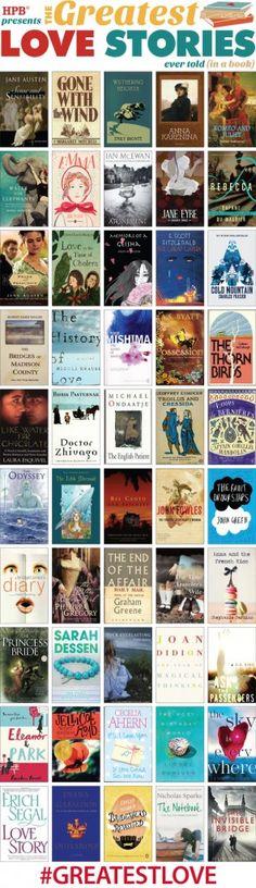 Las mejores historias de amor de la literatura