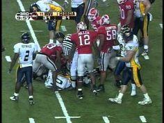 2006 Sugar Bowl - #11 WVU vs # 7 Georgia