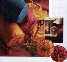 How to sew a pillow - cushion  / Как сшить подушку-валик