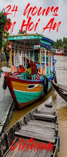 Why Hoi An is a must for any Vietnamese itinerary A complete list of what to do in Hoi An in 24 hours! If you are planning a trip to Vietnam include Hoi An in your itinerary. One of Vietnam's best cities. Visit Vietnam, Vietnam Travel, Asia Travel, Vietnam Vacation, Vietnam Tourism, Wanderlust Travel, Laos, Hoi An, Places To Travel