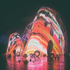 ADJUST. #c4d #cinema4d #3d #art #melt #neon by beeple_crap