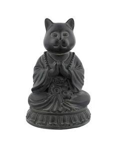 Sugar Puss Ornament Black 10x26x14cm