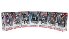 McFarlane Toys just released the first wave of Madden 17 Ultimate Team action figures.