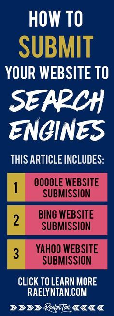 nice Want to submit your website to search engines? Here are simple, step-by-step ins. Business Marketing, Content Marketing, Business Tips, Internet Marketing, Online Business, Media Marketing, Online Marketing, Marketing Technology, Business Website