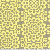 Amy Butler Lotus Wall Flower Taupe Fabric By The Yard From Westminster Fabrics