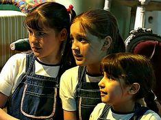 Chiquititas 2000 Último Capítulo Capítulo 144 Las Actrizes Milagros Flores, Nadia Di Cello y Natália Melcon My Childhood, Tween, I Movie, Brunettes, Girls, Flowers