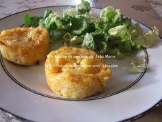 Muffins aux pommes de terre