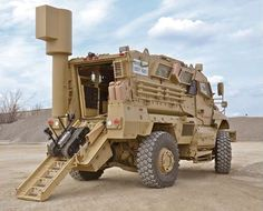 MaxxPro MRAP Explosive Ordinant Disposal, Route Clearance Kit