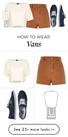 """Untitled #2744"" by andrea2597 on Polyvore featuring River Island, Vans, Topshop and Diane Von Furstenberg"