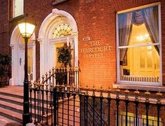 Harcourt Hotel in Dublin, IE Dublin Hotels, Hotel Deals, Hotel Offers, Best Hotels, Taj Mahal, Entrance, Scotland, Ireland, Mansions