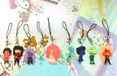Steven Universe Charms by Tricotia on Etsy