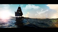 Sailing! Blender3D Cycles engine.