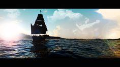 Sailing! Blender3D Cycles engine.