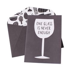 This gorgeous greeting card will brighten any wine lovers day.