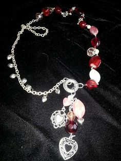 Red Hot Love by MADDjewels on Etsy, $28.00