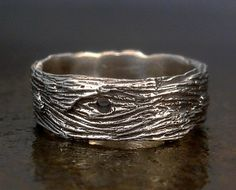 Driftwood Ring - Sterling Silver from MarcusBerkner Jewelry on Etsy. $47.00