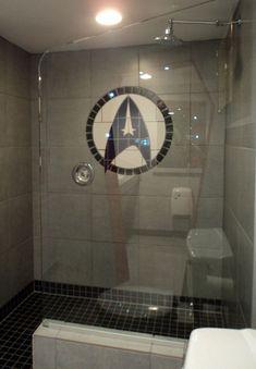 Star Trek shower!