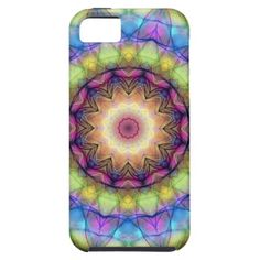 While a kaleidoscope is a continually changing pattern of shapes and colors, this is an digital still version of that. Intricate patterns that are repeated in a circular frame. This Iphone Case was created by Carolien Blom.Impact resistant  lightweight hard plastic case with rubber lined interior. Gorgeous!    This amazing kaleidoscope looks like you're looking through a stain glass window inside a room where tons of little lights are shining. Beautiful with rainbow colors.