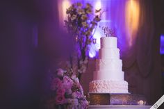 A perfect setting for the wedding cake - Silverfox Photography - Long Island Wedding Photography