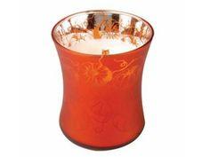Pumpkin Butter Medium Dancing Glass Candle by WoodWick