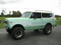 Mint green Scout II