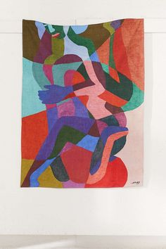 Ines Longevial Abstract Art Tapestry - Urban Outfitters