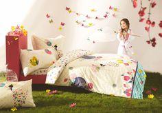 Kinderbettwäsche bei Schlaf und Raum // von bekannten Marken wie Designers Guild, Catimini, Christian Fischbacher // www.schlaf-und-raum.de