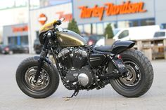 New Sportster 48 Cafe Racer