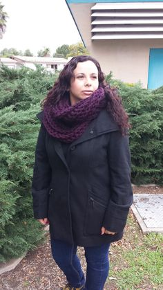 Crochet warm chunky infinity scarf/ cowl by MoniNoni on Etsy, $25.00