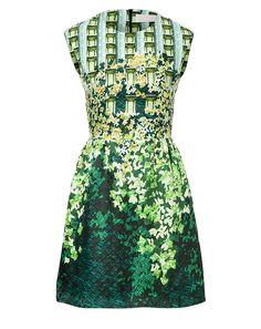 Shop now: Mary Katrantzou Silk Print Gia Dress