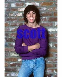 SCOTT BAIO #266,AT HOME CANDID PHOTO,closeup,HAPPY DAYS,charles in charge Actors Then And Now, Scott Baio, Man Photo, Happy Day, Celebrity Photos, Love Him, Candid, Close Up, Graphic Sweatshirt
