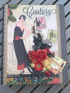 Scrapbook Funs blog: Couture Mini Album