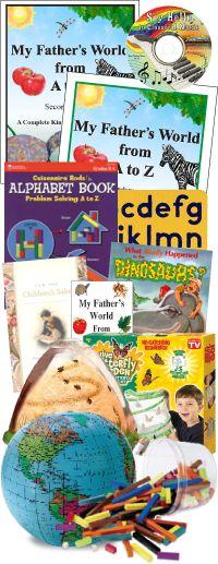 My Father's World Homeschool Curriculum-Kindergarten