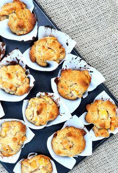 Paleo Persimmon Walnut Mini Muffins | Fed and Fit