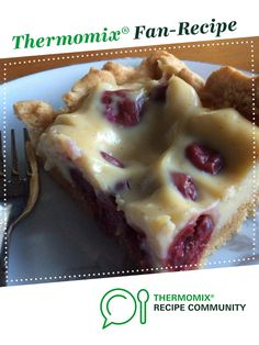 Recipe Cherry & Custard gluten free slice by KB in the NT, learn to make this recipe easily in your kitchen machine and discover other Thermomix recipes in Baking - sweet. Sweet Pastries, Recipe Community, School Snacks, Custard, Gluten Free Recipes, Baked Goods, Sweet Recipes, Waffles, Cherry