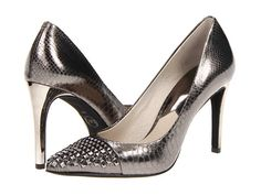 Who's mad about metallic?  Ohh pick me! I also love the spike action going on. Channel my inner Thunderdome.