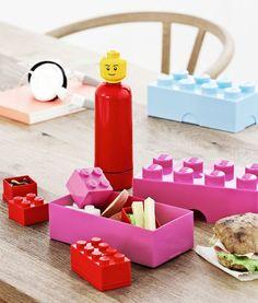 Lancheiras e Garrafas LEGO http://casaruim.com/categoria-produto/lego-2/